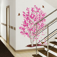 Fancy Flower Tree Removable Mural Vinyl Decal Wall Sticker Art Room Home Decor