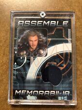 Marvel Avengers Chris Hemsworth as Thor Assemble Memorabilia Wardrobe Relic AS-1
