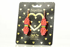NEW AnUNe- For You Sipellas Earrings No 202, 1 Pair, Silicone Jewelry, women