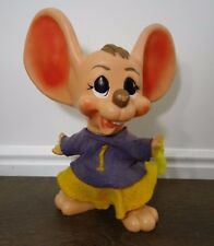 Vintage Cheerleader Mouse Bank Roy Des of Fla