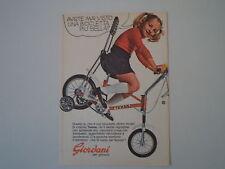 advertising Pubblicità 1973 BICICLETTA GIORDANI TEXINA