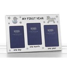 First Year Frame Baby Shower Boy Girl First Born Christening Gift Present 50052