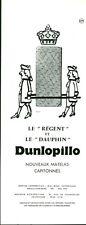 Publicité ancienne matelas Dunlopillo nouveaux 1959