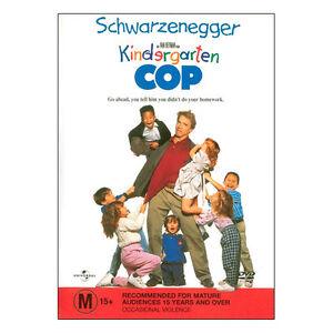 Kindergarten Cop DVD Brand New Aus Region 4 - Arnold Schwarzenegger - Free Post