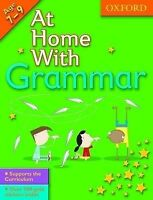 At Home With Grammar (7-9), Lindsay, Sarah , Good   Fast Delivery