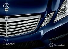 2013 Mercedes Benz E-Class E63 AMG E350 E400 E550 28-page Sales Brochure Catalog