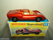 MATCHBOX SUPERFAST MODEL No.68c PORSCHE 910 VN En parfait état, dans sa boîte