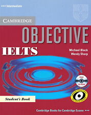 CAMBRIDGE Objective IELTS Intermediate Student's Book w CD-ROM | Black Sharp NEW