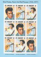 Elvis PRESLEY ROCK AND ROLL Pioneer (1935-1977) Nuovo di zecca Gomma integra, non linguellato FRANCOBOLLO SHEETLET