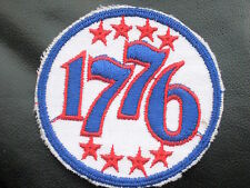 "1776 EMBROIDERED SEW OR IRON ON PATCH STARS 3"" round"