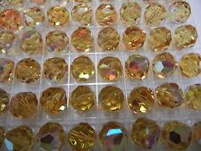 24 swarovski crystal beads,10mm light topaz AB #39(#5300)   SPECIAL