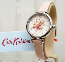 New CATH KIDSTON Watch Cream Leather strap IDEAL GIFT for Her ! RRP £79 !
