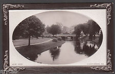 Postcard New Zealand early view of Avon River at Christchurch RP