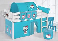 SPIELBETT HOCHBETT KINDERBETT JELLE NEU LILOKIDS Hello Kitty Türkis