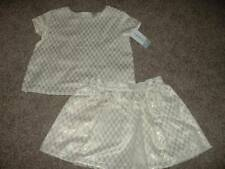 Carter's Toddler Girls Gold Holiday Formal Skirt Top Set Size 5T 5 NWT NEW