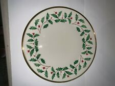 NLENOX HOLIDAY PLATES -10 - MILLENNIUM EDITION WITH STORAGE CASE -NEVER USED