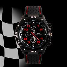 GT Sport Herrenuhr Militär Uhren Silicone Mode Schwarz Armbanduhren Watch