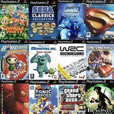 Playstation 2 Spiele (ps2) wählen Sie ein Spiel oder Bundle bis Gleichen Tag Versand