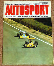 Autosport November 16th 1972 *Interlagos F2*