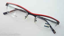 Tommy Hilfiger Designer Glasses Only UPPER EDGE RED BLACK 53-18 Sporty Size M