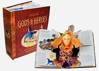 Encyclopedia Mythologica Gods Heroes Pop Up Book Signed Matthew Reinhart 1st New