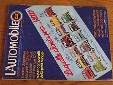 $$$ Revue L'automobile N°335 Citroen GS bi rotor24h du Mans350 Morini