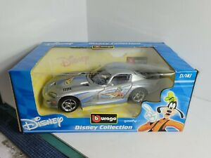 Dodge Viper GTS 1:18 Diecast Disney Collection Goofy Limited Italy Burago