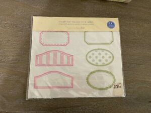 Pottery Barn Kids Gallery Mat Peel and Stick Labels