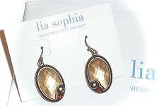 """NWT - LIA SOPHIA/KIAM COLLECTION """"LISA"""" DROP EARRINGS - 2010/$38"""