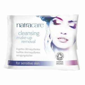 NATRACARE - Cleansing Make-Up Removal Wipes - 20 Wipes