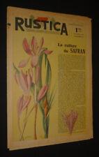 Rustica (14e année - n°42, 19 octobre 1941)