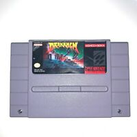 Drakkhen Super Nintendo SNES Game - Tested, Working & Authentic!
