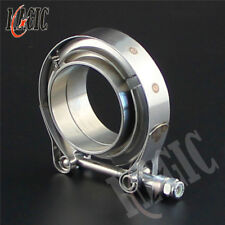 "2"" 51mm V-Band Vband Clamp CNC Stainless Steel Flange Flanges Turbo Downpipes"