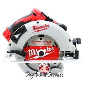 "New Milwaukee 2631-20 M18 18V 7-1/4"" Brushless Cordless Lithium Ion Circular Saw"