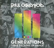 Paul Oakenfold - Generations - Three Decades of Dance [CD]