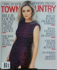 Town & Country Sept 2017 Billie Lourd Carrie Fisher's Legacy FREE SHIPPING sb