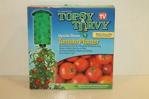 Topsy Turvy Upside Down Tomato Planter As Seen on TV 3 Easy Steps New In The Box
