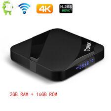 tanix TX3 MAX Android 7.1 bt4.1 Quad Core 2.4ghz Wi-Fi TV-Box 4k 2gb+16gb