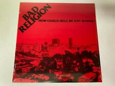 BAD RELIGION HOW CAN HELL GET ANY WORSE LP VINYL RECORD BRAND NEW/SEALED