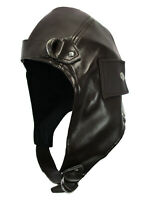 Aviator Helmet Flying Bomber Trapper Hat Steampunk WWII Fighter Pilot Costume