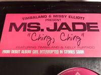 Timbaland Missy  Elliott Present Ms Jade Ching Ching 12 inch Single Promo Vinyl