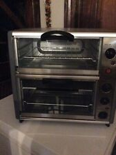Ginny's Brand Double Decker Toaster Oven.
