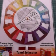 Sew Easy Colour Wheel including a Tonal /Tone Estimator Guide Free Post