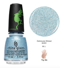 China Glaze Nail Lacquer THE GRINCH Collection Ready To Wear -Deliciously Wicked