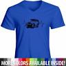 Unisex Mens Women Tee T-Shirt Auto Gift Shirts Heartbeat Toyota FJ Cruiser SUV