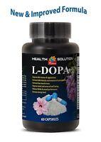 L-DOPA - 60 Ct 350 Mg - DOPAMINE - MUCUNA PRURIENS EXTRACT - DECREASES BODY FAT