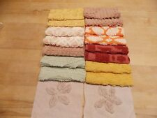 16 Vintage Fall Colors Chenille 6 Inch Squares