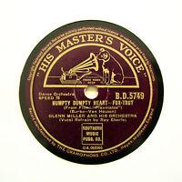 "GLENN MILLER & HIS ORCHESTRA ""Humpty Dumpty Heart"" (E+) HMV BD-5749 [78 RPM]"