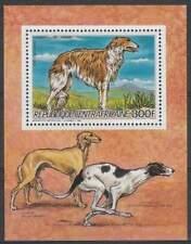 Centraal Afrika postfris 1986 MNH - Honden / Dogs (hb027)