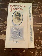 1924 Cummings School Iowa School Souvenir Booklet